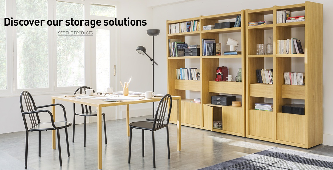 Furnitures and storage accessories