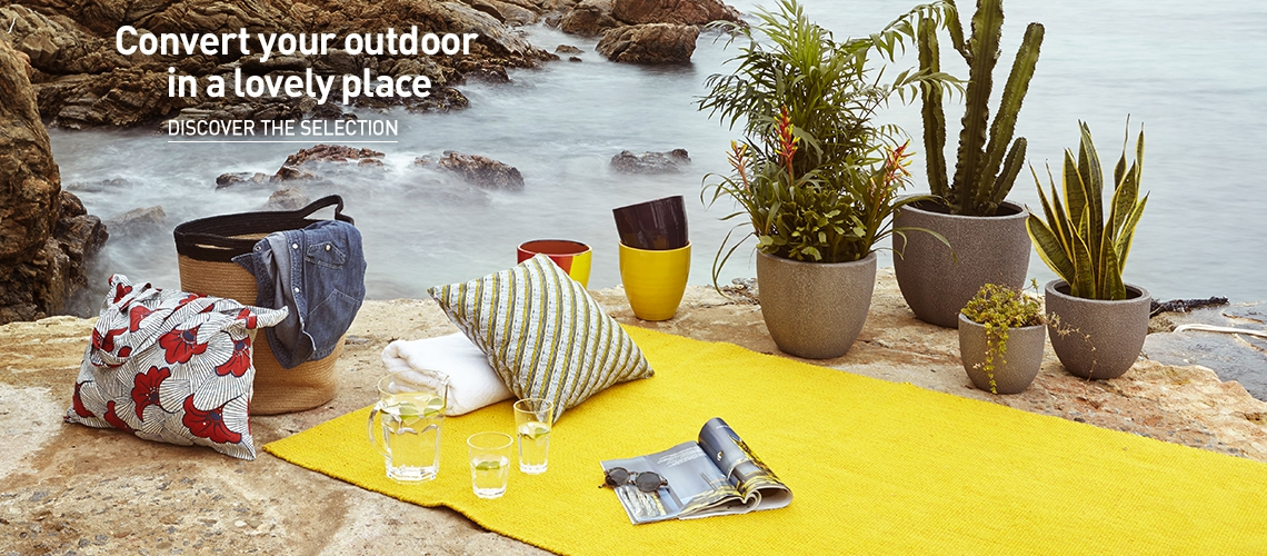 Convert your outdoor in a lovely place