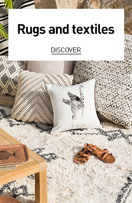 Rugs and textiles for summer