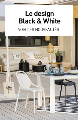 tendance black and white