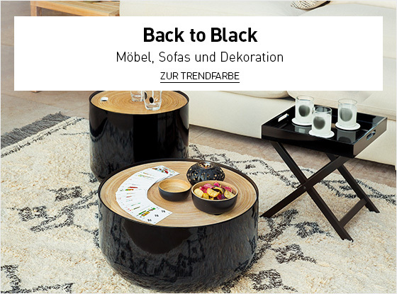 Trendfarbe : Back to Black