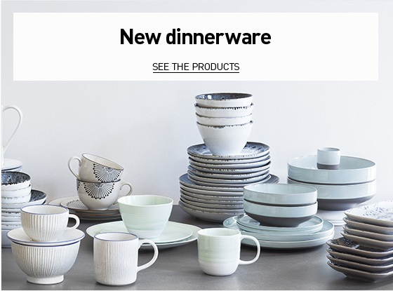 New dinnerware