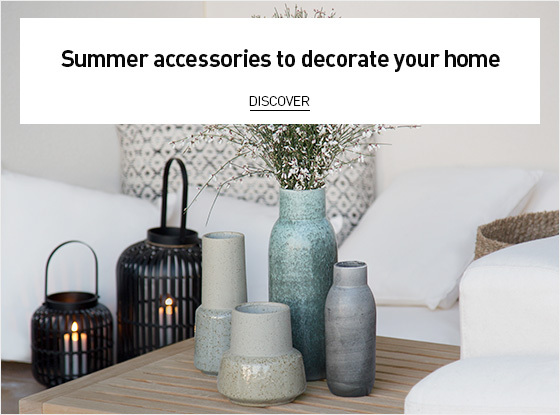 Summer accessories to decorate your home