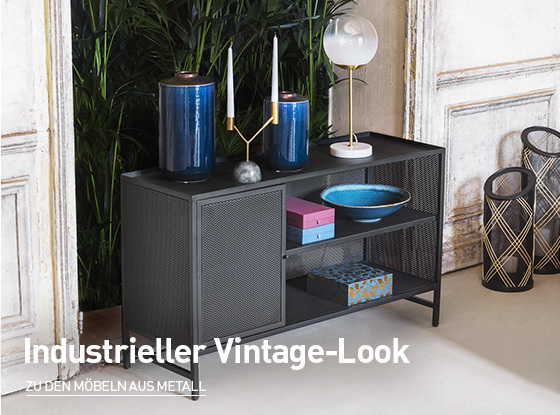 Industrieller Vintage-Look