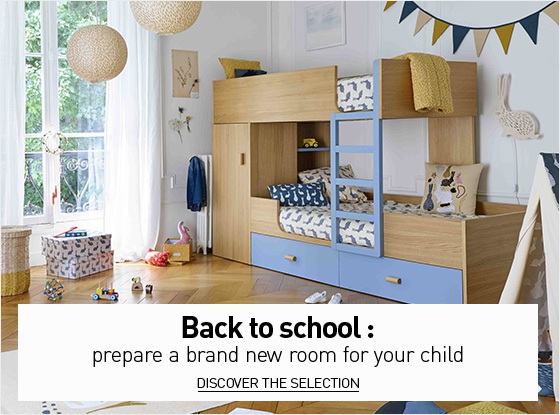 Back to school : a brand new room for your child