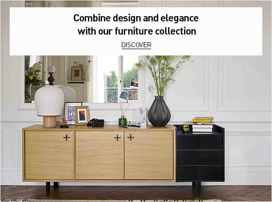 Combine design and elegance with our furniture collection