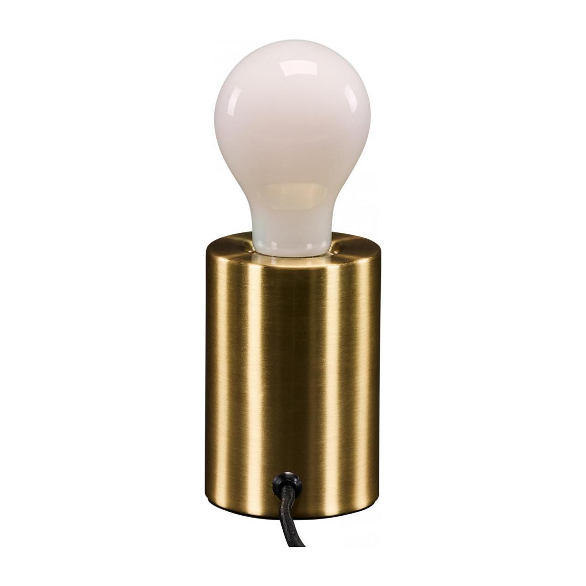 Lampe de table - Laiton n°4