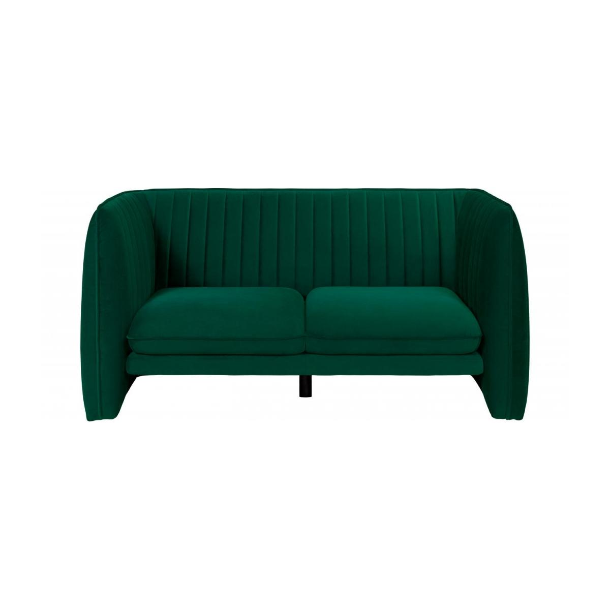 lucas 2 sitzer sofa aus samt gr n design by adrien. Black Bedroom Furniture Sets. Home Design Ideas