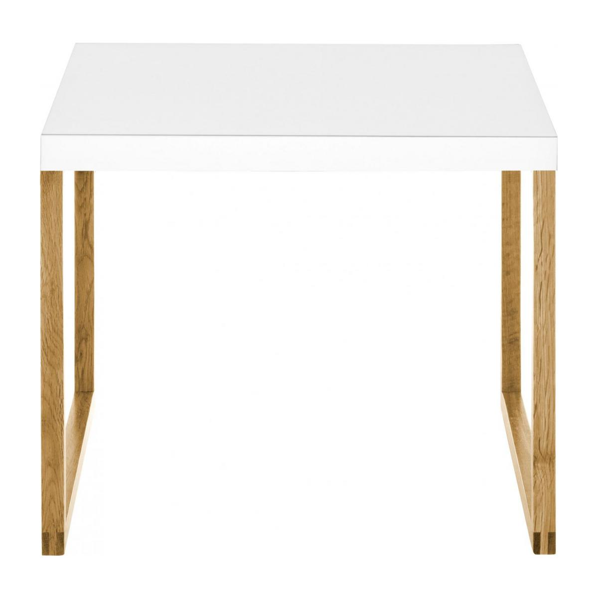 Table d'appoint blanche n°3