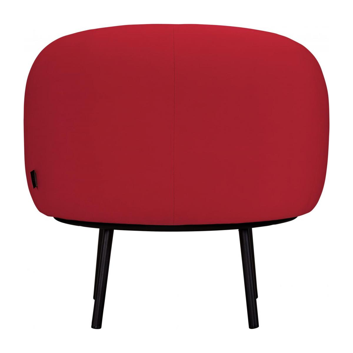 Fauteuil en velours - Rouge - Design by Adrien Carvès n°3