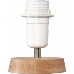 Wooden lamp stand