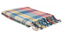 Plaid en Tartan - 130 x 170 cm - Multicolore