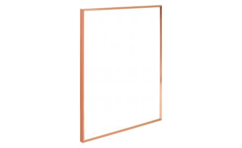 Marco de pared de metal 40 x 50 cm - Cobre