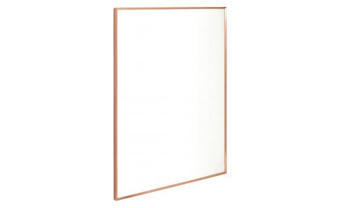 Marco de pared de metal 50 x 70 cm - Cobre
