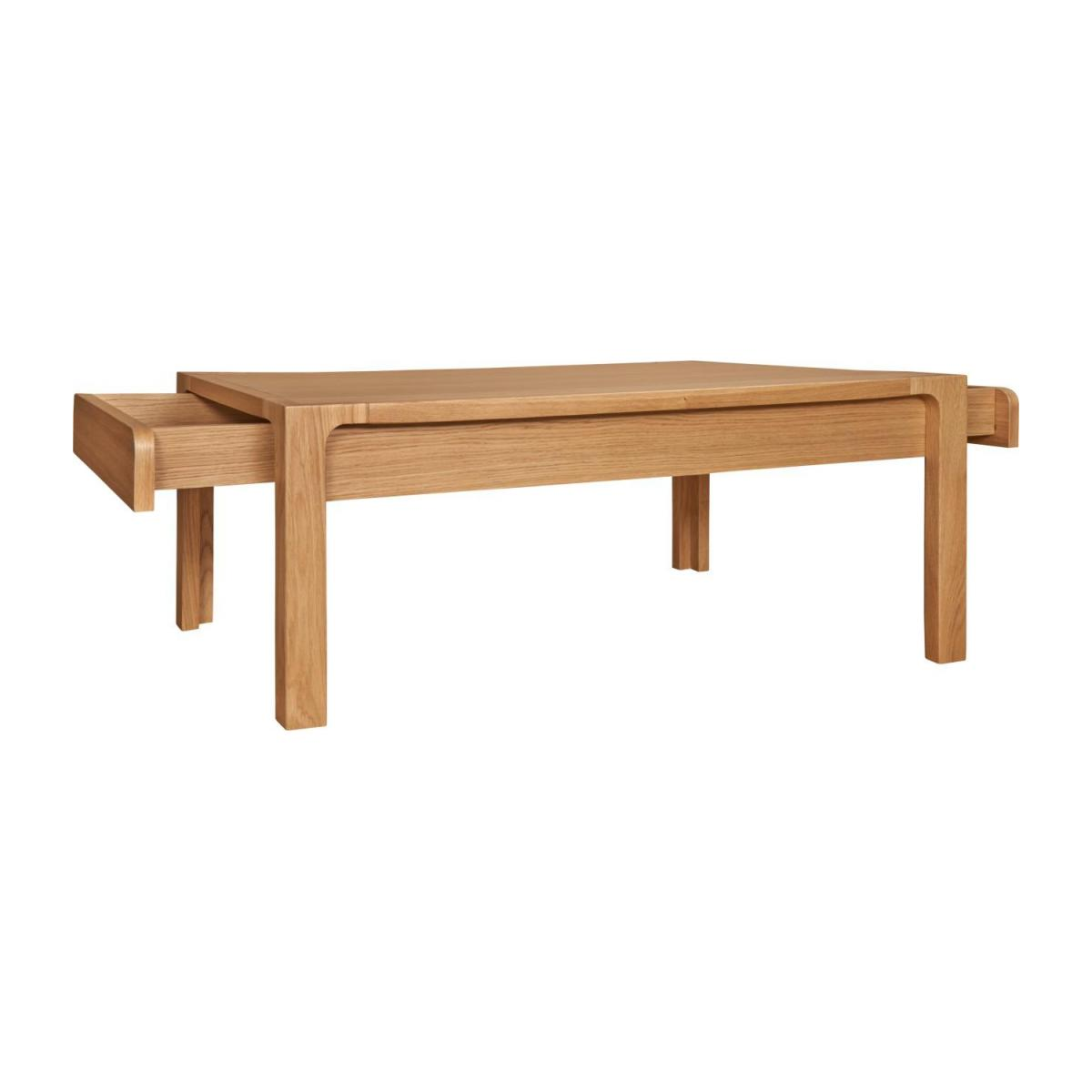 Coffee table made of oak n°3