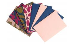 Lot de 4 cartes avec enveloppes - Design by Floriane Jacques