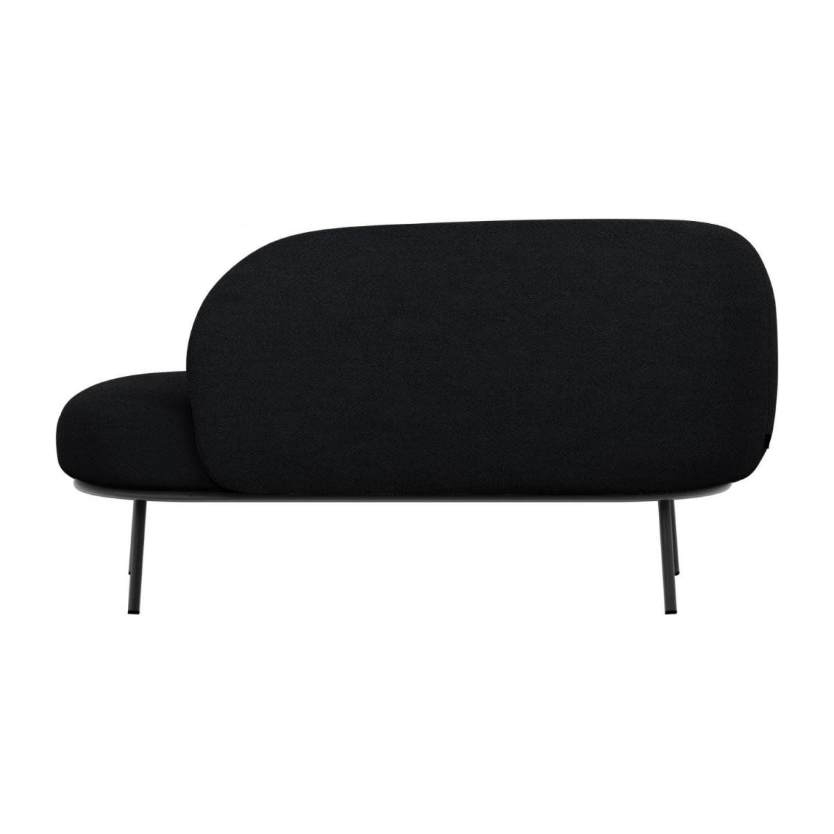 Chaise longue en tela - Antracita  n°4