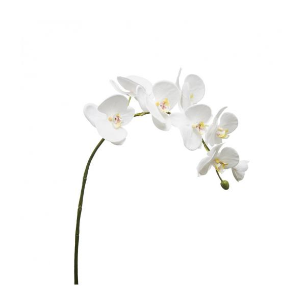 Artificial Phaalenopsis white orchid 82.5cm