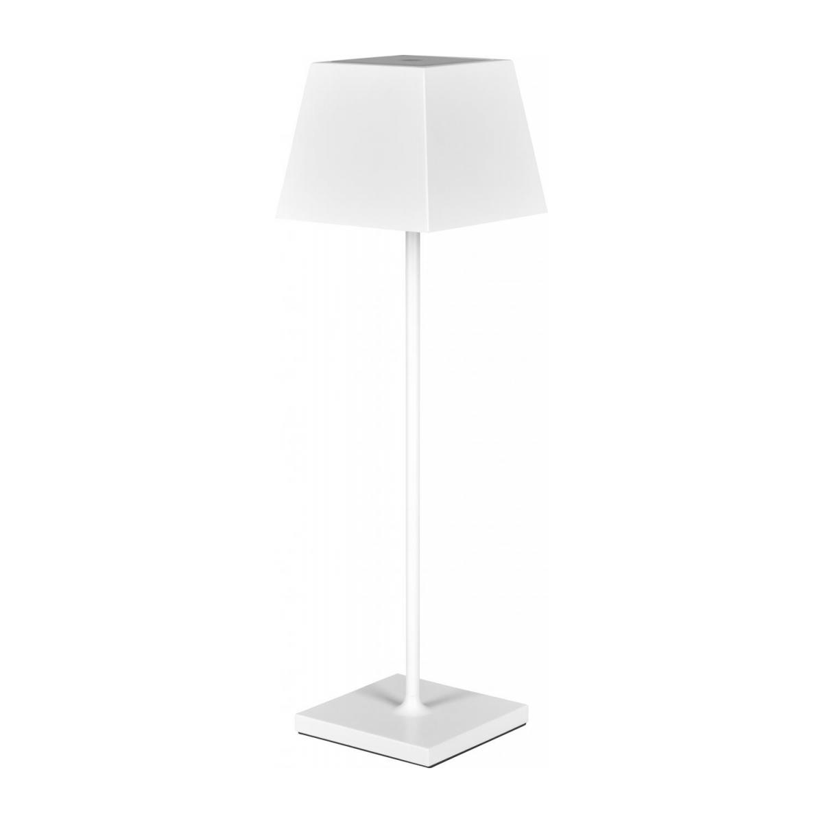 Lampe de table nomade à LED IP54 en aluminium - Blanc n°1