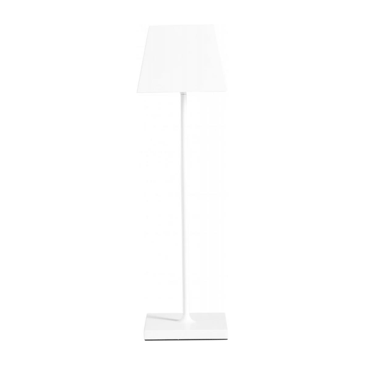 Lampe de table nomade à LED IP54 en aluminium - Blanc n°3