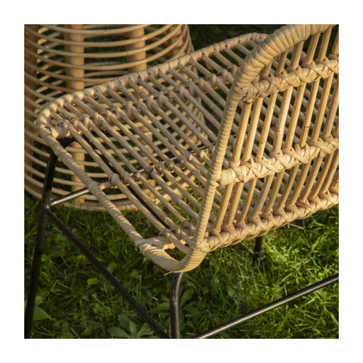 Chaise en rotin - Naturel n°6