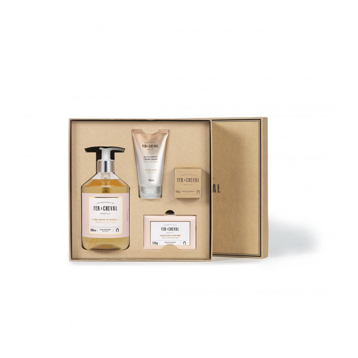 Coffret Tendresse rose n°1