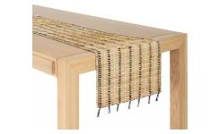 Travers de table en jonc de mer - 40 x 150 cm - Naturel