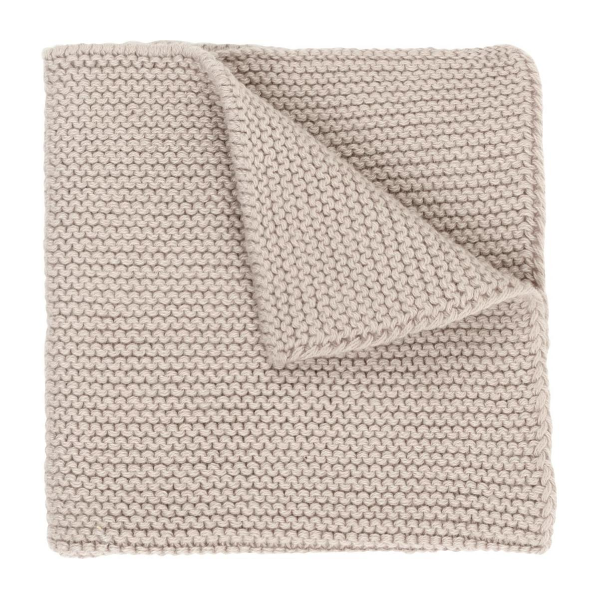 Lot de 2 serviettes de table en coton - 25 x 25 cm - Beige n°2