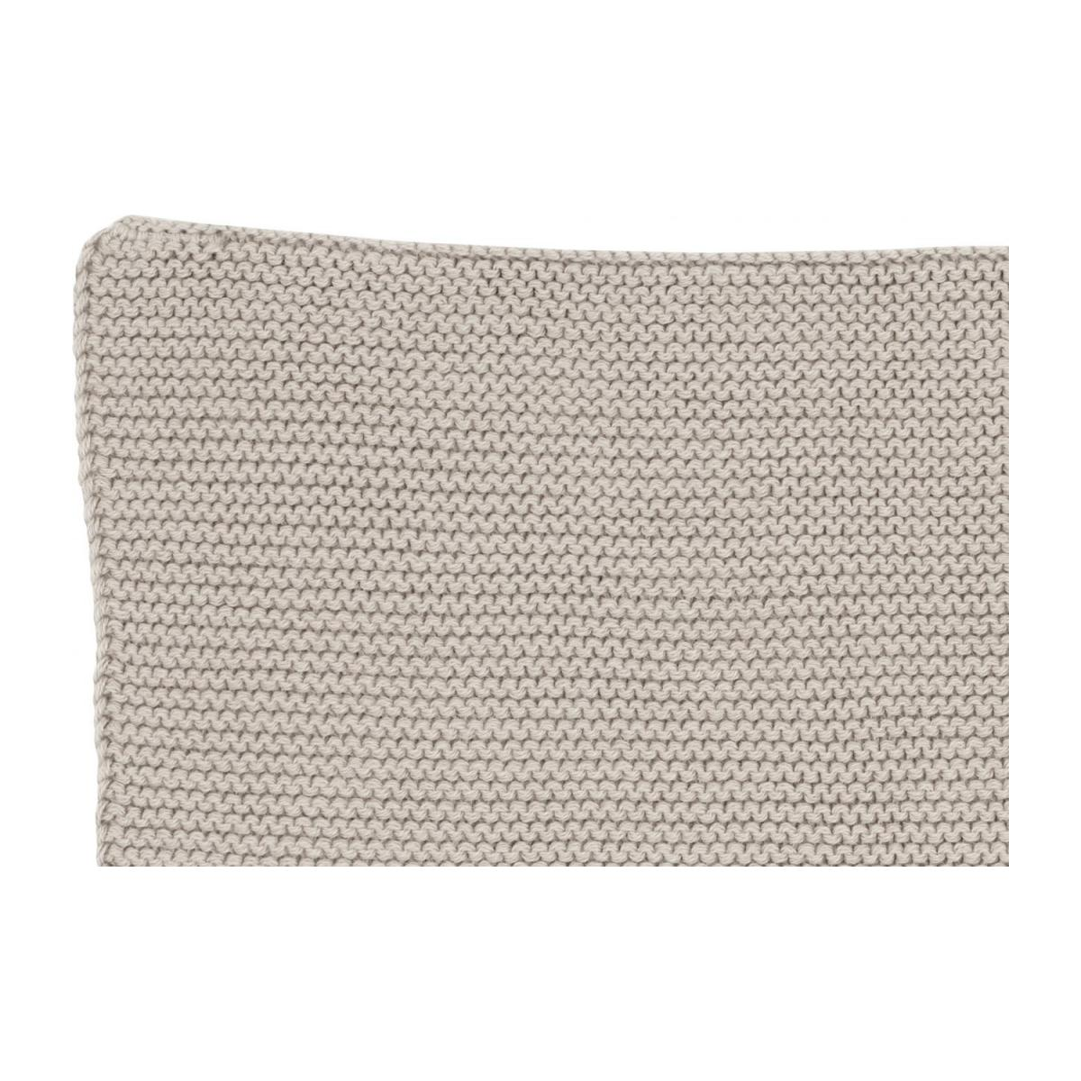 Lot de 2 serviettes de table en coton - 25 x 25 cm - Beige n°5