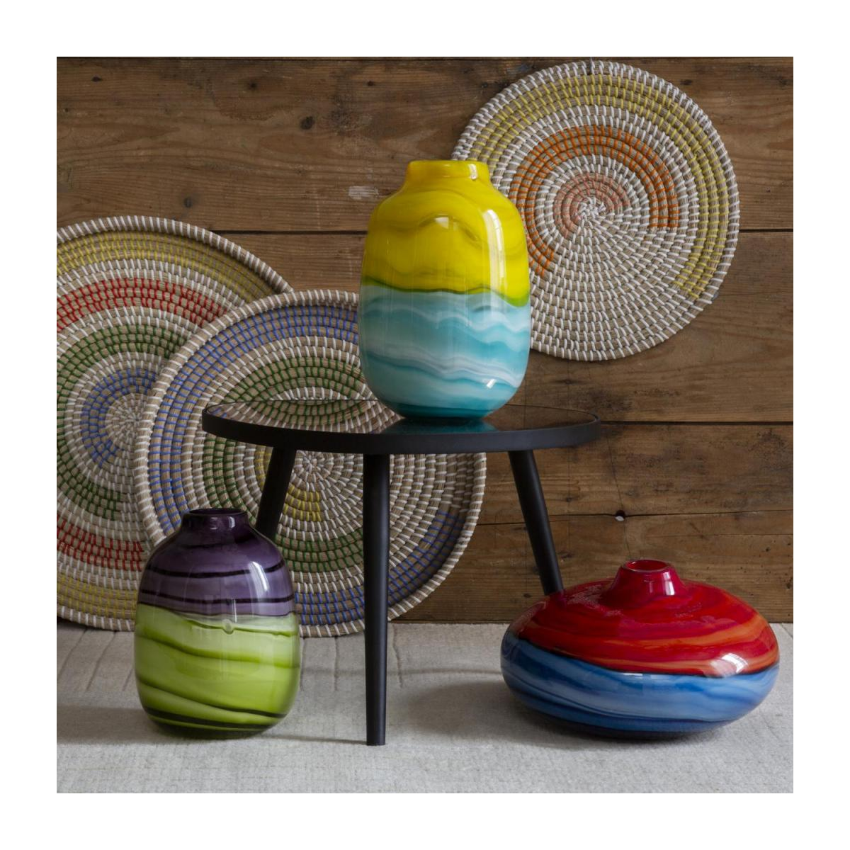 Set de table rond en jonc de mer - 35 cm n°6