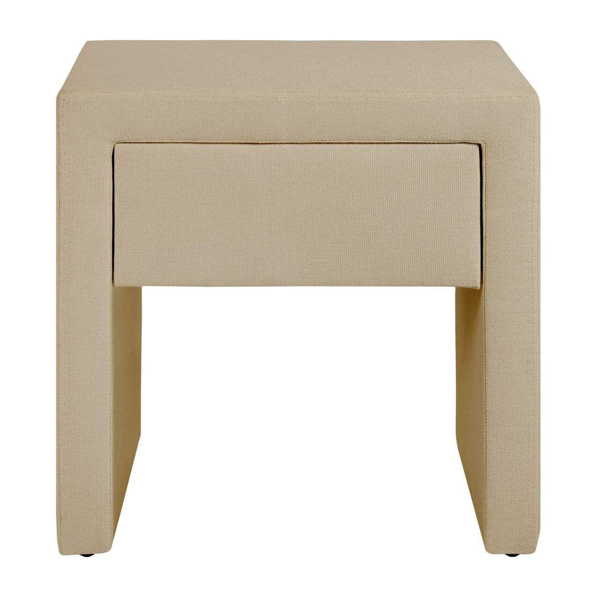 Fabric bedside table n°2