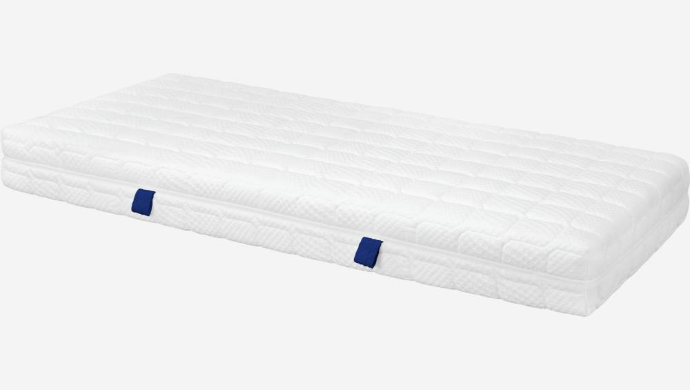 Spring mattress, width 22 cm, 90x200cm - firm support