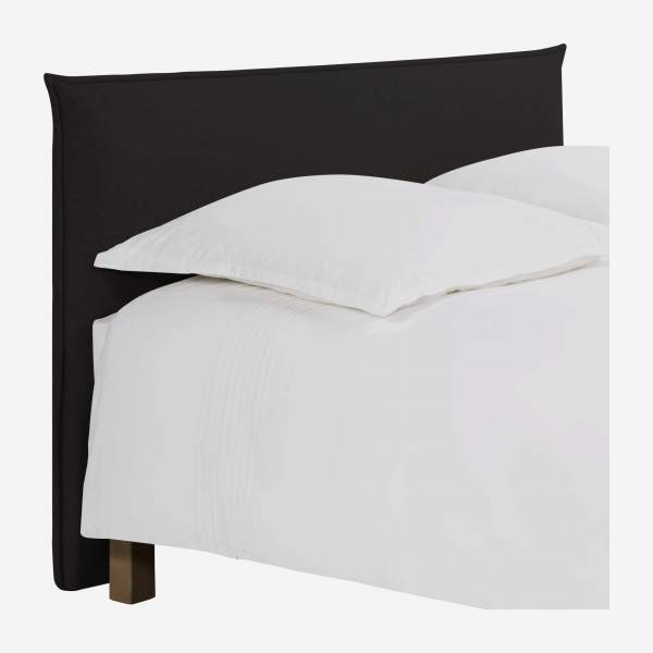 Headboard for 140cm box spring in fabric, anthracite