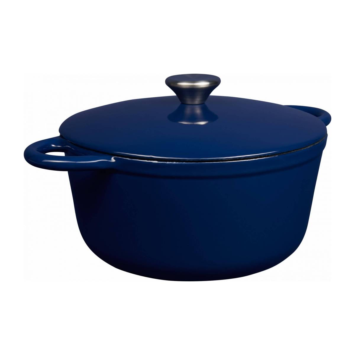 Cast iron cooker 23 cm, blue n°1