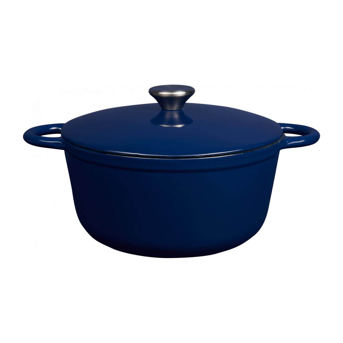 Cast iron cooker 23 cm, blue n°2
