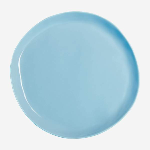 Dessert plate in porcelain 22cm, blue