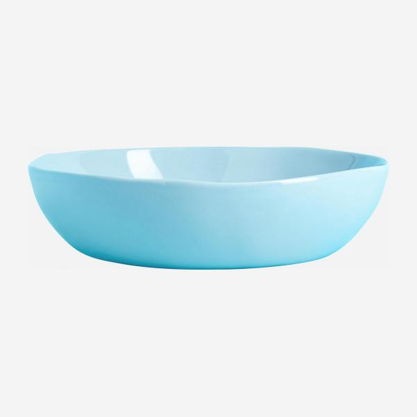 Bowl in porcelain 22cm, blue