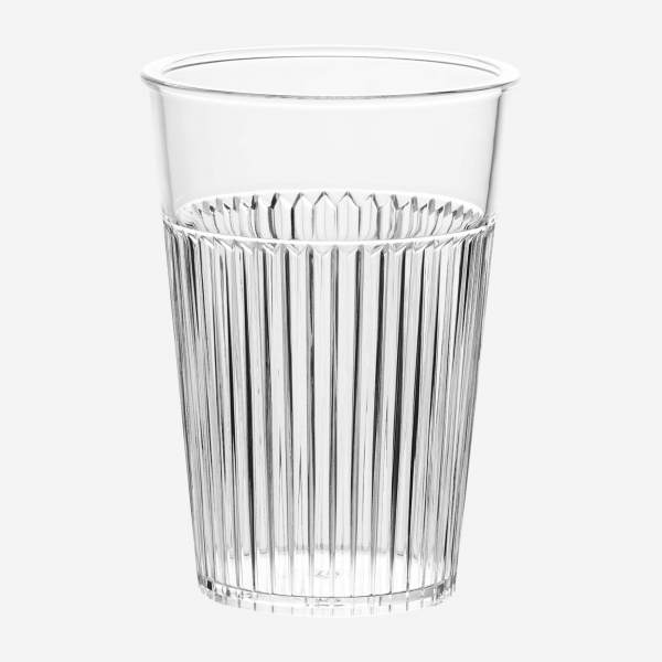 4er Set Becher, transparent