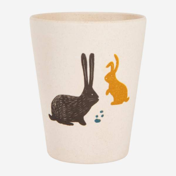 Tumbler 30 cl, bunny pattern