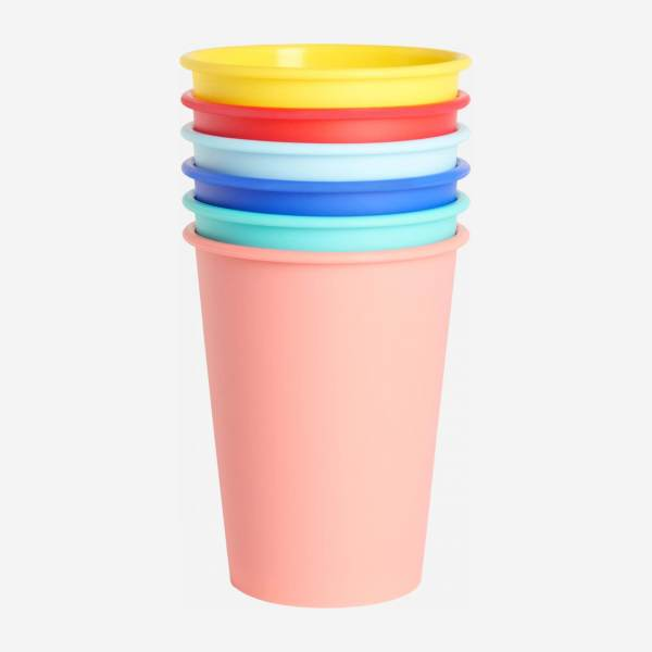 Set of 6 picnic tumblers