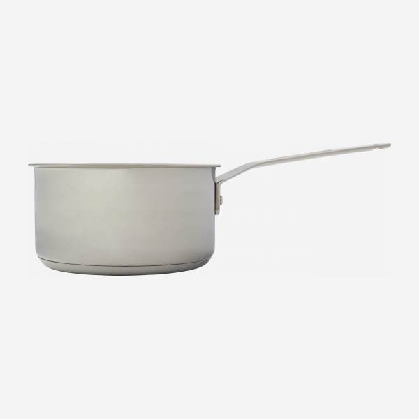 Saucepan 20 cm in stainless steel