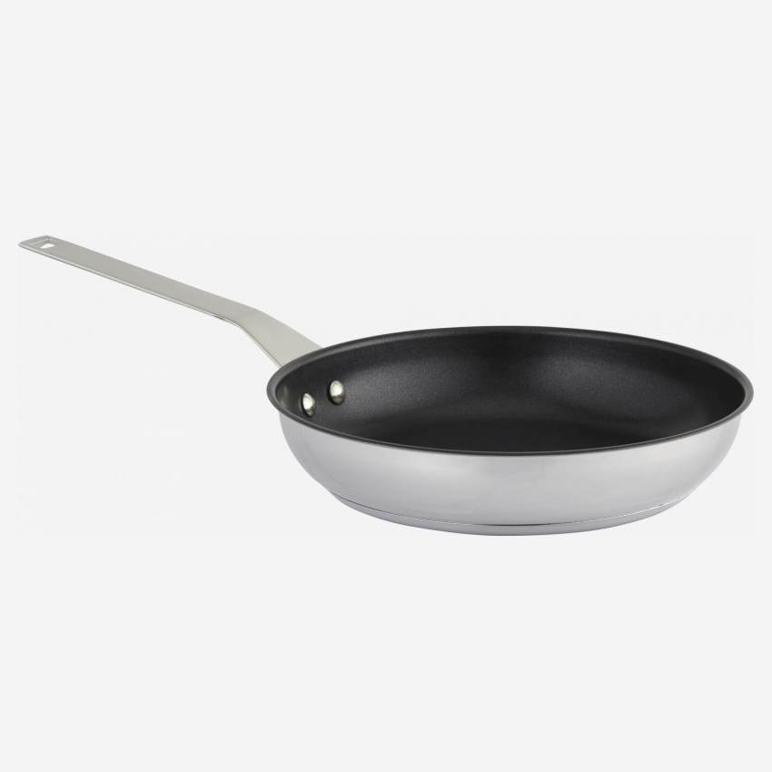 Non-stick pan 20 cm in stainless steel