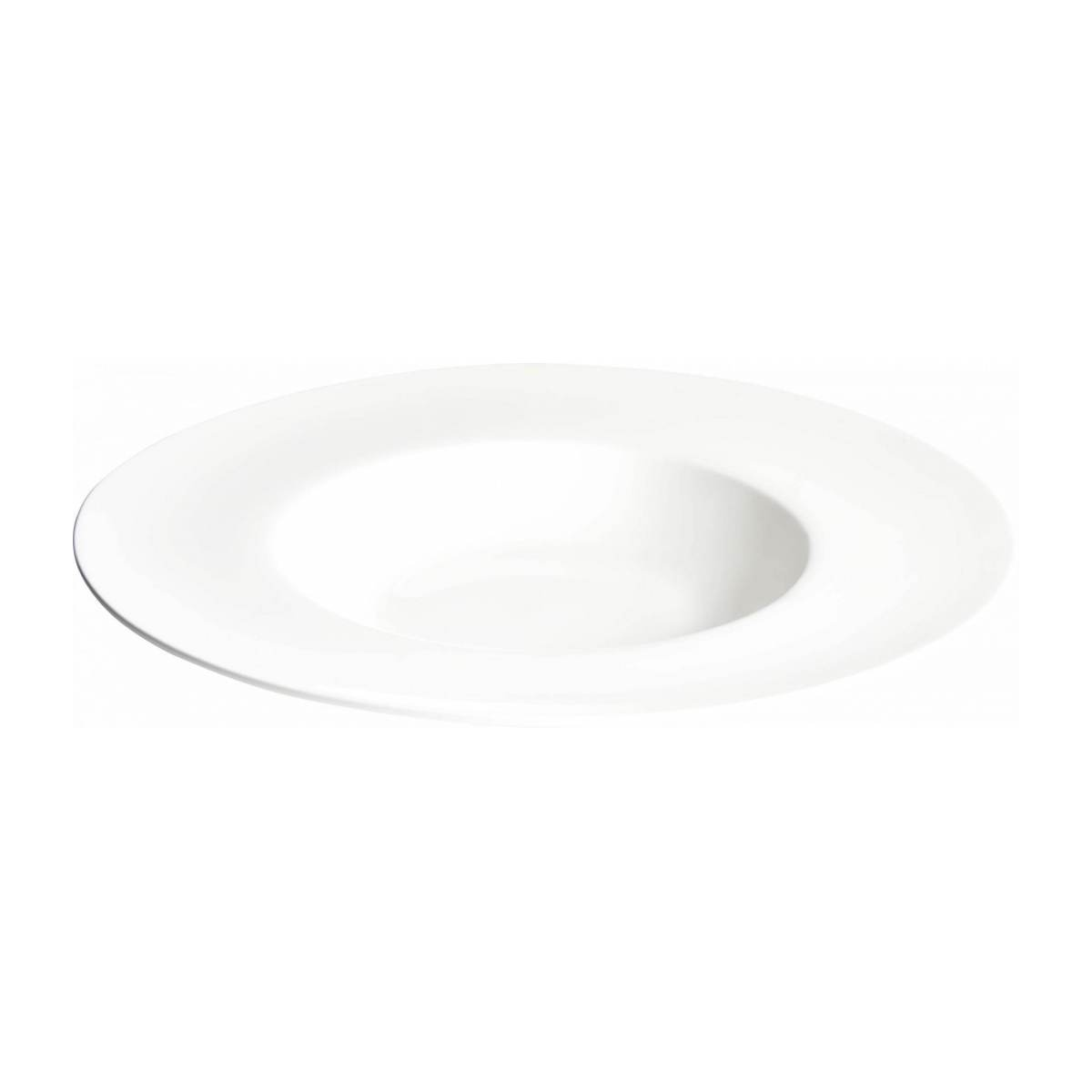 Plate for risotto in porcelain n°2