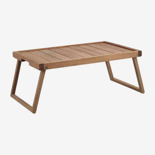 Wooden bed tray - 55 cm