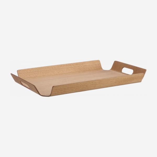 Wooden tray - 47 cm