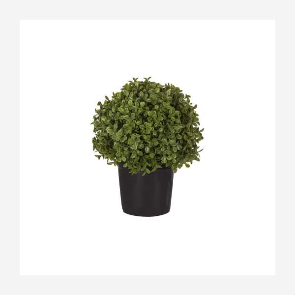 Artificial potted boxwood 27cm