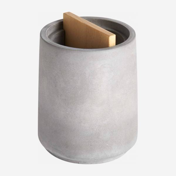 Concrete tumbler - Grey