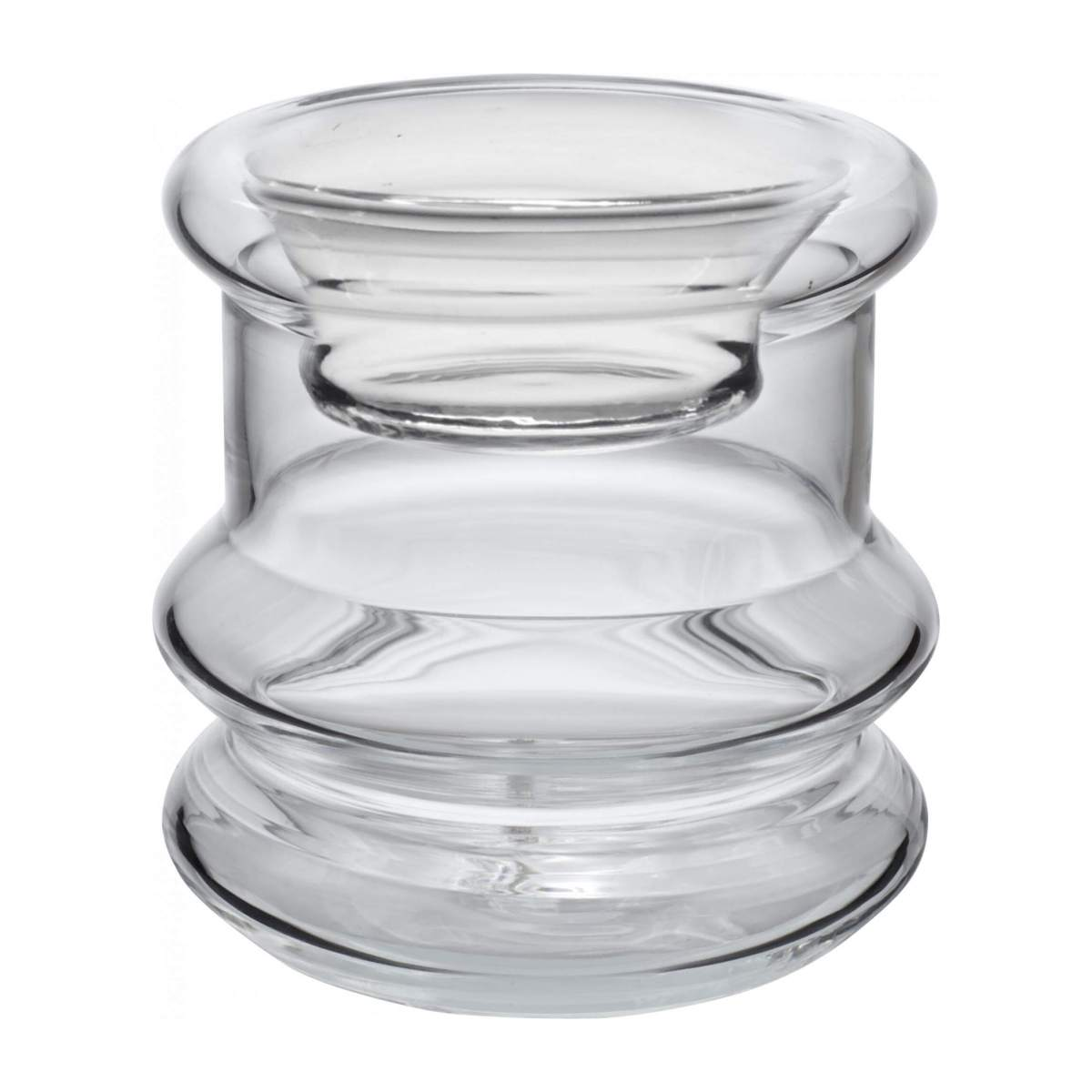 Small glass candlestick n°1
