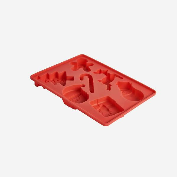 Multi-shape ice cube tray