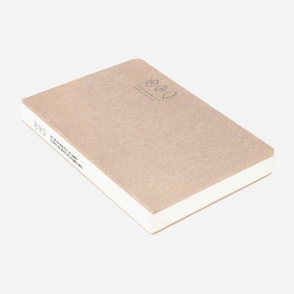 Carnet - Papier - Marron - S - 96 pages